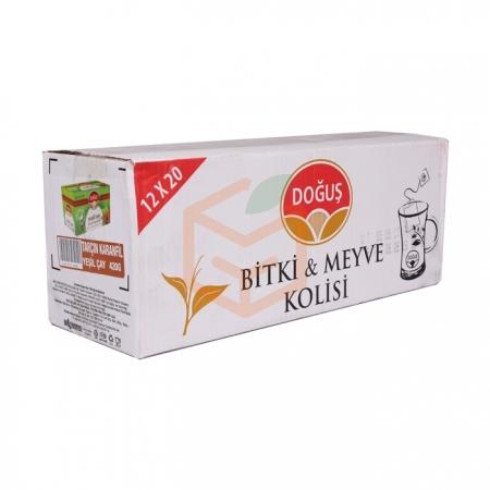 Doğuş Bitki Çayı Tarçın Karanfil Y.çay 20' li - 12' li Koli | Gıda Ambarı