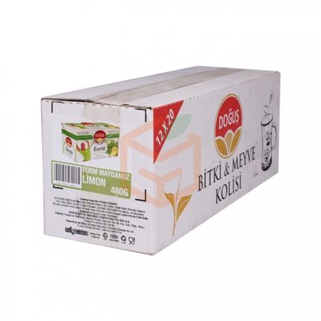 Doğuş Bitki Çayı Form Maydanoz-limon 20`li - 12`li Koli | Gıda Ambarı