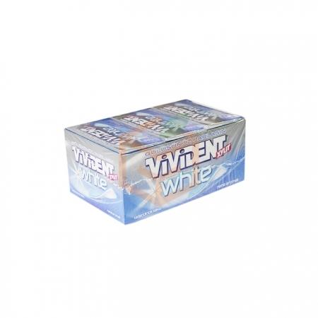 Vivident White Yaprak Nane Aromalı 26 Gr 18' li Paket Toptan - Atıştırmalıklar - Sakız -