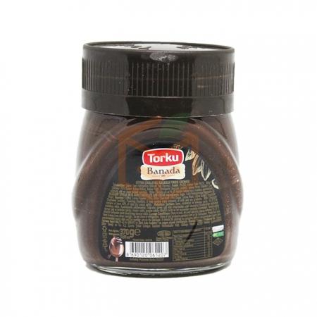 Torku Bitter Fındık Ezmesi 370 Gr  6' lı Koli Toptan - Tatlı Ürünleri - Ezmeler -