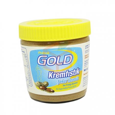 Gold (şeker İlavesiz) Krem Fıstık 340 Gr  12' li Koli | Gıda Ambarı