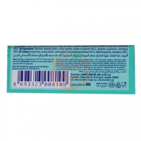 Nazar 5' li White Nane Aromalı Sakız 20' li Paket | Gıda Ambarı