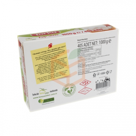 Torku Küp Şeker 1 Kg 20' li Koli | Gıda Ambarı