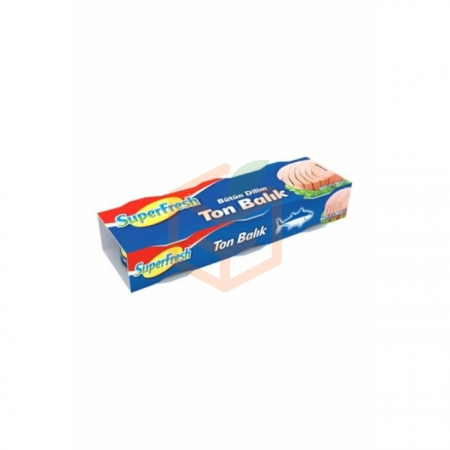 Super Fresh Ton Balığı 3lü 75gr -8li Koli