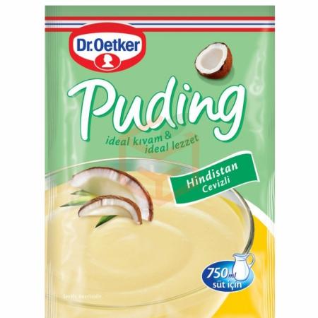 Dr.oetker Puding Hindistan Cevizli 128 Gr 24' lü Koli | Gıda Ambarı