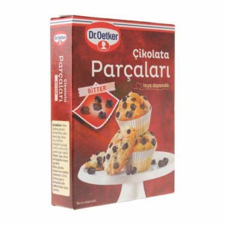 Dr.oetker Çikolata Parçaları 100 Gr 12' li Koli | Gıda Ambarı