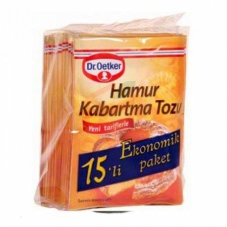 Dr.oetker 15' li Hamur Kabartma Tozu 10' lu Paket | Gıda Ambarı