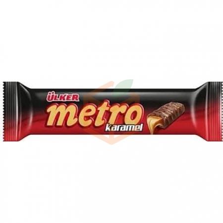 Ülker Karamelli Metro 24 Gr 24' lü Paket | Gıda Ambarı