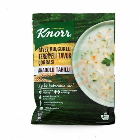 Knorr Yöresel Siyez Bulgurlu Terbiyeli Tavuk Çorbası 12' li Paket | Gıda Ambarı