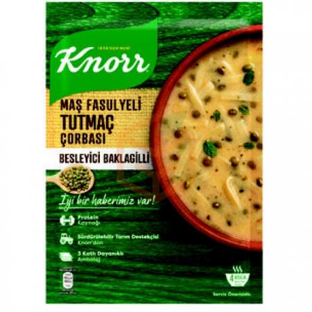 Knorr Yöresel Maş Fasulyeli Tutmaç Çorbası 12' li Paket | Gıda Ambarı