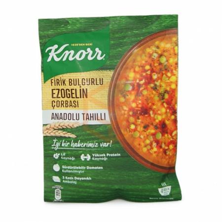 Knorr Yöresel Firik Bulgurlu Ezogelin Çorba 12' li Paket | Gıda Ambarı