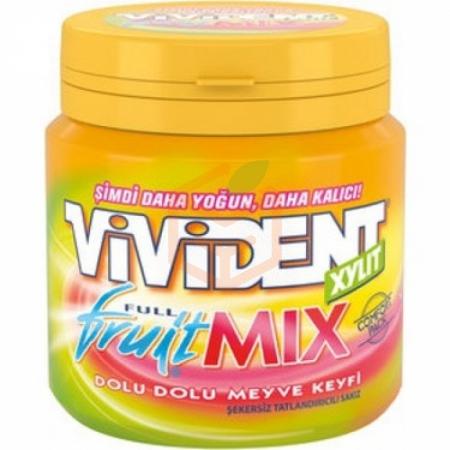 Vivident (mega Comfort Pack) Full Fruit Mix 100gr-10`lu Paket
