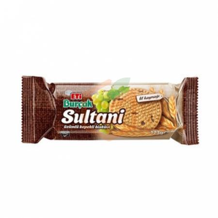 Eti Burçak Sultani Bisküvi 123gr(k:24115)-12`li Koli | Gıda Ambarı