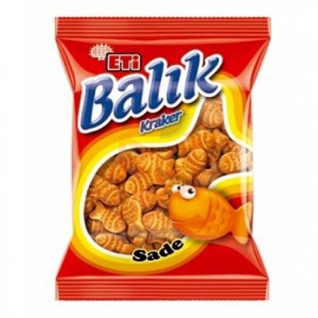Eti Balık Kraker 40 gr (k:25403)-16`li Koli   Gıda Ambarı