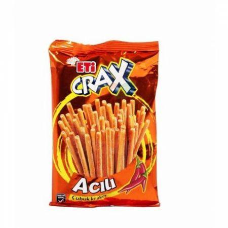 Eti Crax Acılı Çubuk Kraker 50 gr (k:45408)-20' li Koli | Gıda Ambarı