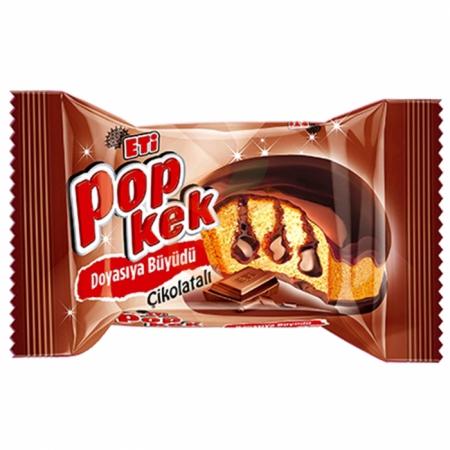 Eti Popkek Çikolatalı 60gr(k:58371)-24lü Koli