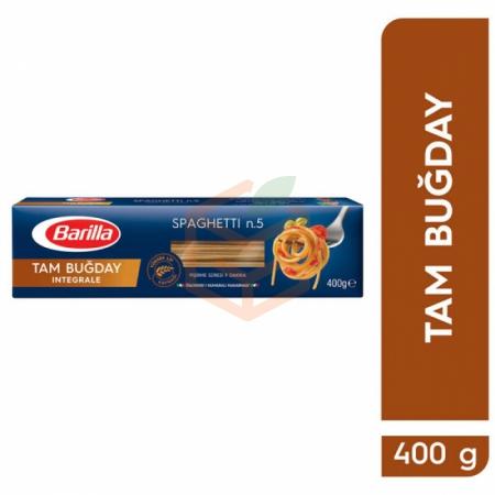 Barilla Tam Buğday Makarna 400 Gr Spagetti 14' lu Koli   Gıda Ambarı