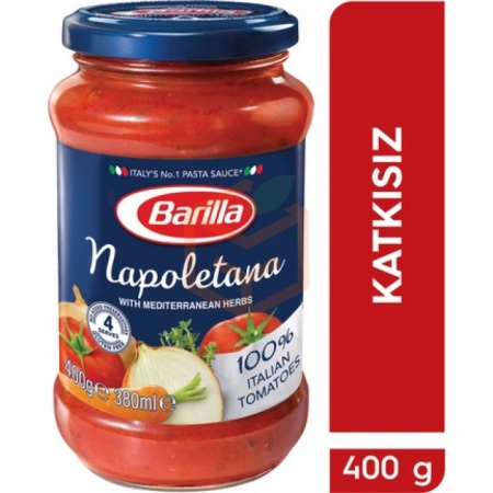 Barilla Makarna Sosu Napoletana 400 Gr 6' lı Koli | Gıda Ambarı