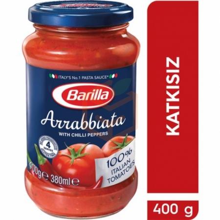 Barilla Makarna Sosu Arrabbıata 400 Gr 6' lı Koli | Gıda Ambarı