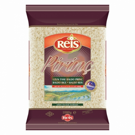 Reis 1000 Gr Baldo Pirinç 20' li Koli | Gıda Ambarı