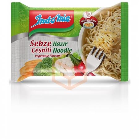 İndomie Sebze Çeşnili Hazır Noodle 75 Gr 40' li Koli Toptan - Hazır Gıdalar - Yemekler -