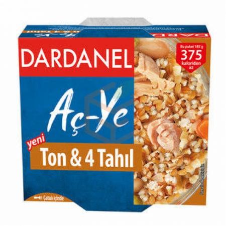 Dardanel 4 Tahıllı Ton Balığı Hazır Yemek 185 Gr 6' lı Koli | Gıda Ambarı