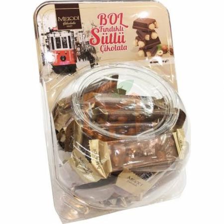 Melodi Bol Fındıklı Sütlü Çikolata Beyoğlu 30 Gr 40' lı Paket | Gıda Ambarı