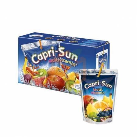 Capri-sun Multi Vitamin Karışık  Meyve Suyu 200 ml 20' li Koli | Gıda Ambarı