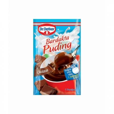 Dr.oetker Bardakta Puding Çikolatalı 35 Gr -12' li Koli   Gıda Ambarı