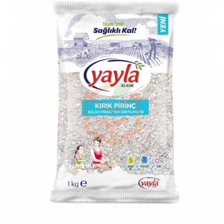 Yayla 1000 Gr Kırık Pirinç 16' lı Koli | Gıda Ambarı