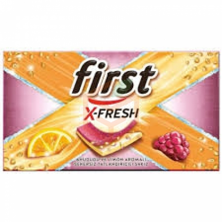 First X-fresh Ahududu&limon Aromalı 27 Gr 12' li Paket   Gıda Ambarı