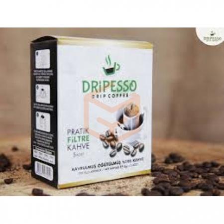 Dripesso Pratik Filtre Kahve 8 Gr 50' li Paket | Gıda Ambarı